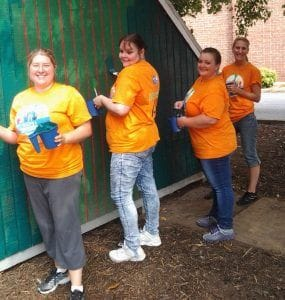 Valley College at the Day of Caring